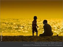 Dad and son - Prashanth R.