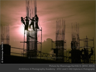 Men at work - Shanmuga Karthik D.