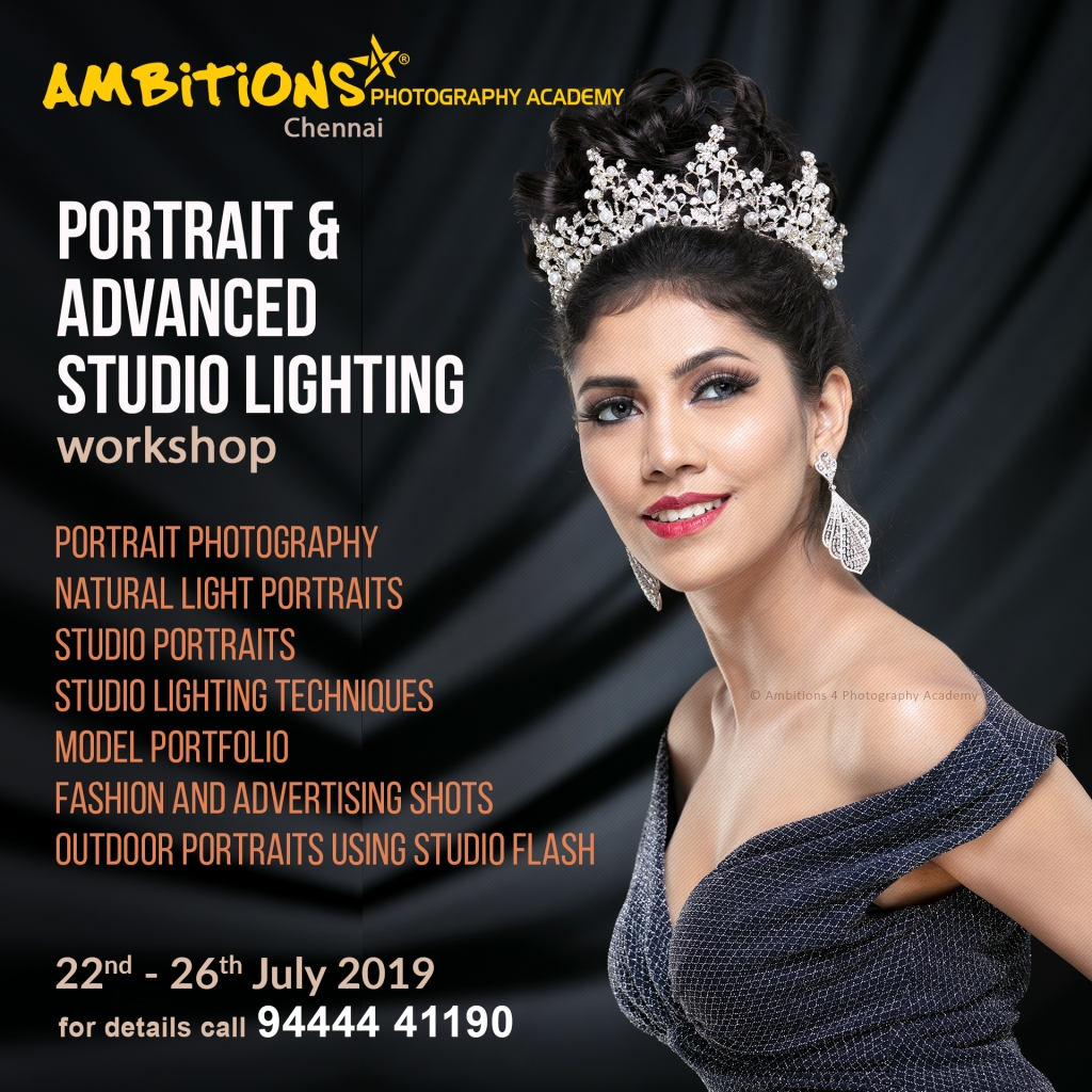 Portrait & Advanced Studio Lighting Workshop