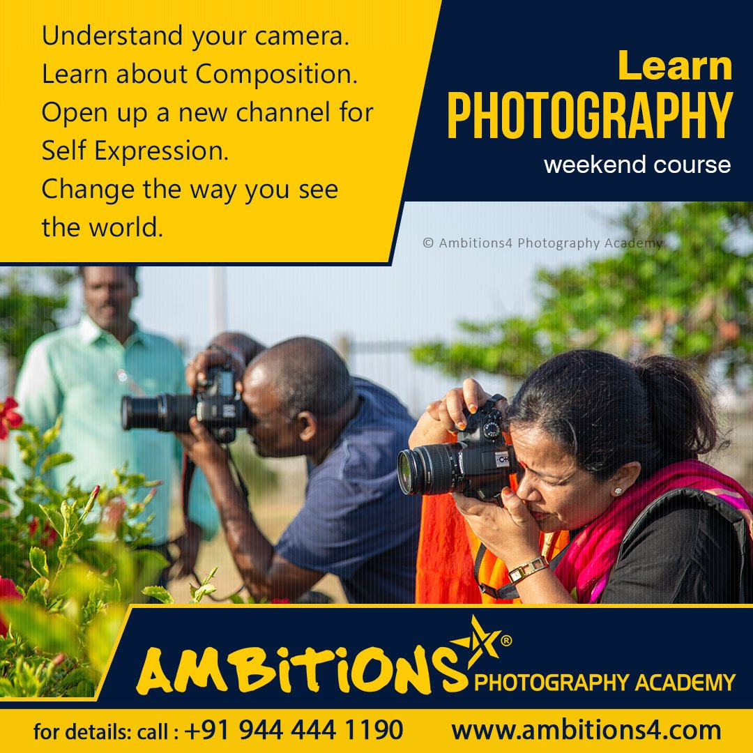 Basic Photography Weekend Course – Batch No. 82