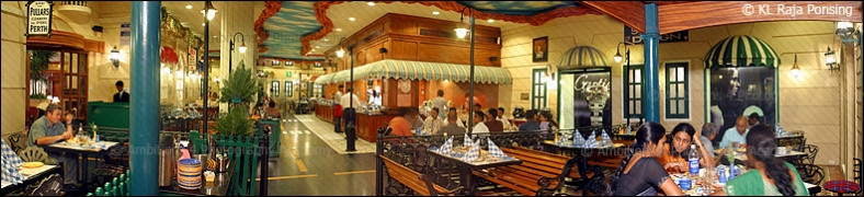 Interior Panorama of a restaurant